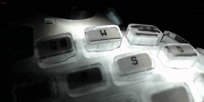 backlighted keymat with partial taped printed keys - closeup 3.jpg