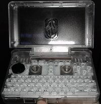 Transparent Pyra case with keys - opened.jpg